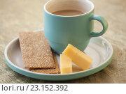 Кофе с сыром. Стоковое фото, фотограф Christina Shart / Фотобанк Лори