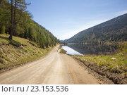 Купить «Мертвоё озеро. Алтай.», фото № 23153536, снято 8 июня 2016 г. (c) Алексей Ширманов / Фотобанк Лори