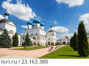 Высоцкий мужской монастырь, Серпухов (2016 год). Стоковое фото, фотограф Наталья Волкова / Фотобанк Лори