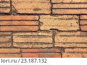 Купить «brick wall texture», фото № 23187132, снято 12 февраля 2015 г. (c) Syda Productions / Фотобанк Лори