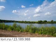 Река Иргиз. Стоковое фото, фотограф Михаил Смыслов / Фотобанк Лори