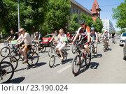 Велопробег (2014 год). Редакционное фото, фотограф Михаил Смыслов / Фотобанк Лори