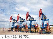 Купить «Нефтяное оборудование», фото № 23192752, снято 12 июня 2010 г. (c) Георгий Shpade / Фотобанк Лори
