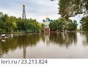 Купить «Николо-Угрешский монастырь», фото № 23213824, снято 8 сентября 2015 г. (c) Макарова Елена / Фотобанк Лори