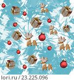 Купить «Рождественский фон», иллюстрация № 23225096 (c) Татьяна Васильева / Фотобанк Лори