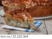 Рыбный пирог. Стоковое фото, фотограф Косяков Д. / Фотобанк Лори