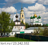 Храмы Коломенского кремля (2016 год). Стоковое фото, фотограф Анна Сапрыкина / Фотобанк Лори