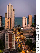 Купить «Boa Viagem is a neighbourhood, Recife, Pernambuco, Brazil.», фото № 23249448, снято 1 октября 2015 г. (c) age Fotostock / Фотобанк Лори