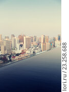 Купить «view from infinity edge pool to bangkok city», фото № 23258688, снято 6 февраля 2015 г. (c) Syda Productions / Фотобанк Лори