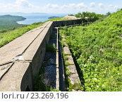 Купить «Форт №9, форт Князя Рюрика на острове Русском», фото № 23269196, снято 3 июля 2016 г. (c) Корнилова Светлана / Фотобанк Лори