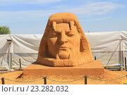 Песчаные скульптуры. Выставка в Коломенском парке (2016 год). Редакционное фото, фотограф Алексей Сварцов / Фотобанк Лори