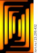 Цветные геометрические фигуры с желтым градиентом на черном фоне. Стоковая иллюстрация, иллюстратор vladimir vershvovski (Владимир Вершвовский) / Фотобанк Лори