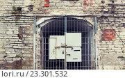 Купить «old prison gate», фото № 23301532, снято 30 сентября 2015 г. (c) Syda Productions / Фотобанк Лори