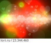 Разноцветный абстрактный фон с бликами и лучами. Стоковая иллюстрация, иллюстратор Николай Полыгалин / Фотобанк Лори