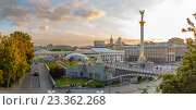 Майдан Незалежности,Киев, Украина (2016 год). Редакционное фото, фотограф Станислав Мороз / Фотобанк Лори