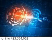 Купить «Sound equalizer background . Mixed media», иллюстрация № 23364052 (c) Sergey Nivens / Фотобанк Лори