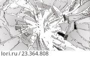 Купить «Осколки разбитого стекла», иллюстрация № 23364808 (c) Арсений Герасименко / Фотобанк Лори