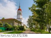 Купить «Церковь Успения, Тотьма», фото № 23372536, снято 4 июля 2016 г. (c) Ирина Яровая / Фотобанк Лори