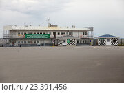 КРОНШТАДТ, Россия, 13 августа - 2016: морской пограничный пункт Форт Константин. Редакционное фото, фотограф Дмитрий Наумов / Фотобанк Лори