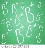 Купить «numbers and letters on a school blackboard», фото № 23397868, снято 20 сентября 2019 г. (c) Wavebreak Media / Фотобанк Лори