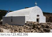 Греческая церковь на острове Родос (2015 год). Стоковое фото, фотограф Александр Громов / Фотобанк Лори