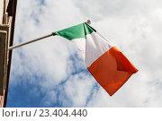 Купить «close up of irish flag», фото № 23404440, снято 21 июня 2016 г. (c) Syda Productions / Фотобанк Лори