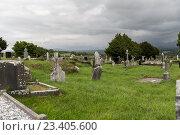 Купить «old celtic cemetery graveyard in ireland», фото № 23405600, снято 24 июня 2016 г. (c) Syda Productions / Фотобанк Лори