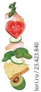 Диетическое питание. Стоковая иллюстрация, иллюстратор Мария Румянцева / Фотобанк Лори