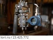 Промышленный измеритель расхода газа (2016 год). Редакционное фото, фотограф Дмитрий Наумов / Фотобанк Лори