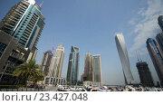 Купить «Вид на Гонконг днем», видеоролик № 23427048, снято 23 октября 2014 г. (c) Elnur / Фотобанк Лори