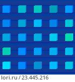 Бесшовный фон с квадратами. Стоковая иллюстрация, иллюстратор David Murk / Фотобанк Лори