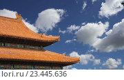 Купить «Запретный город, Пекин, Китай», видеоролик № 23445636, снято 29 августа 2016 г. (c) Владимир Журавлев / Фотобанк Лори