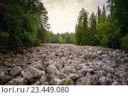 Каменная река. Стоковое фото, фотограф Игорь Аникин / Фотобанк Лори