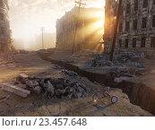 Купить «Руины города», иллюстрация № 23457648 (c) Виктор Застольский / Фотобанк Лори