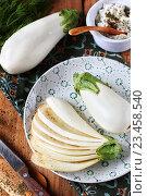 Белые баклажаны. Стоковое фото, фотограф Оксана Голева / Фотобанк Лори