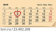 Купить «8 марта Международный женский день», иллюстрация № 23492208 (c) Алексей Григорьев / Фотобанк Лори