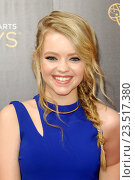 Jade Pettyjohn - Los Angeles/California/United States - CREATIVE ARTS EMMYS DAY 1 (2016 год). Редакционное фото, фотограф Patrick Rideaux / age Fotostock / Фотобанк Лори