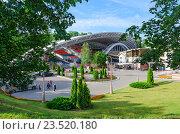 Купить «Летний амфитеатр, Витебск, Беларусь», фото № 23520180, снято 13 июля 2016 г. (c) Ольга Коцюба / Фотобанк Лори