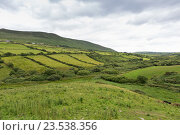 Купить «farmland fields at wild atlantic way in ireland», фото № 23538356, снято 25 июня 2016 г. (c) Syda Productions / Фотобанк Лори