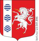 Купить «Герб муниципального округа Шувалово-Озерки», иллюстрация № 23541896 (c) VectorImages / Фотобанк Лори