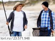 Picture of fisherman, фото № 23571948, снято 8 апреля 2015 г. (c) Sergey Nivens / Фотобанк Лори