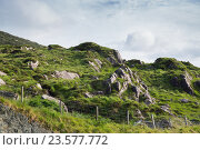 Купить «view to rocky hills in ireland», фото № 23577772, снято 25 июня 2016 г. (c) Syda Productions / Фотобанк Лори