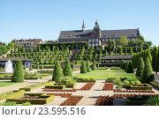 Купить «Baroque garden Abbey Kamp, Kamp-Lintfort, Germany», фото № 23595516, снято 20 февраля 2019 г. (c) age Fotostock / Фотобанк Лори