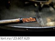Купить «In the coffee-roasting», фото № 23607620, снято 19 августа 2018 г. (c) age Fotostock / Фотобанк Лори