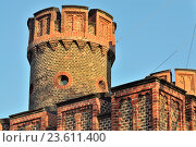 Купить «Фридрихсбургские ворота - старинный немецкий форт Кёнигсберга. Калининград (до 1946 года Кёнигсберг), Россия», фото № 23611400, снято 26 апреля 2016 г. (c) Сергей Трофименко / Фотобанк Лори