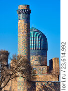 Купить «Uzbekistan, Samarkand, Unesco World Heriatge, Bibi Khanoum mosque.», фото № 23614992, снято 21 декабря 2015 г. (c) age Fotostock / Фотобанк Лори