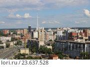 Купить «Пермь, городской пейзаж», фото № 23637528, снято 7 июля 2016 г. (c) Анна Казанцева / Фотобанк Лори