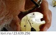 Купить «Horologist repairing a pocket watch», видеоролик № 23639256, снято 17 февраля 2020 г. (c) Wavebreak Media / Фотобанк Лори