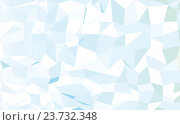 Купить «abstract blue low poly pattern background», иллюстрация № 23732348 (c) Syda Productions / Фотобанк Лори