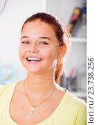 Купить «smiling girl portrait», фото № 23738256, снято 26 мая 2020 г. (c) Яков Филимонов / Фотобанк Лори